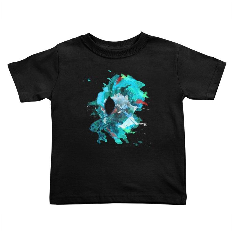 Mr. Betta Kids Toddler T-Shirt by The Hidden Squid