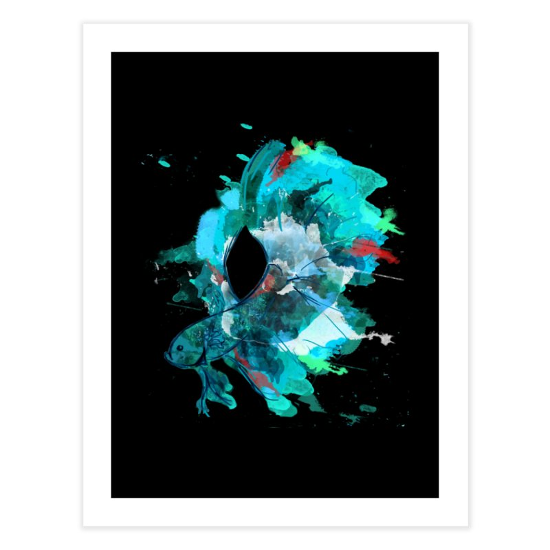 Mr. Betta Home Fine Art Print by The Hidden Squid