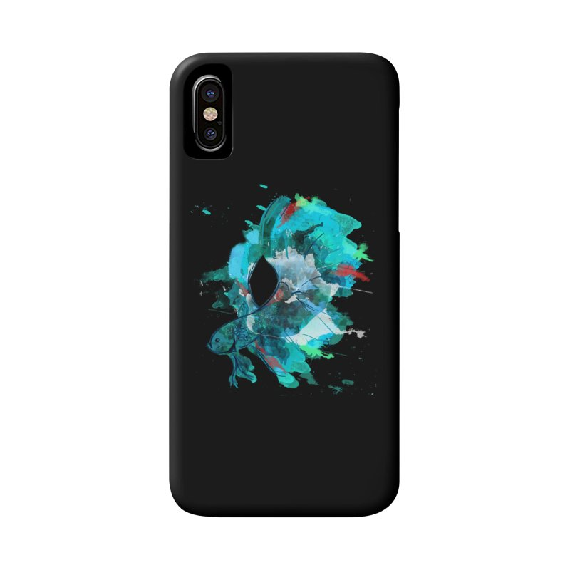 Mr. Betta Accessories Phone Case by The Hidden Squid