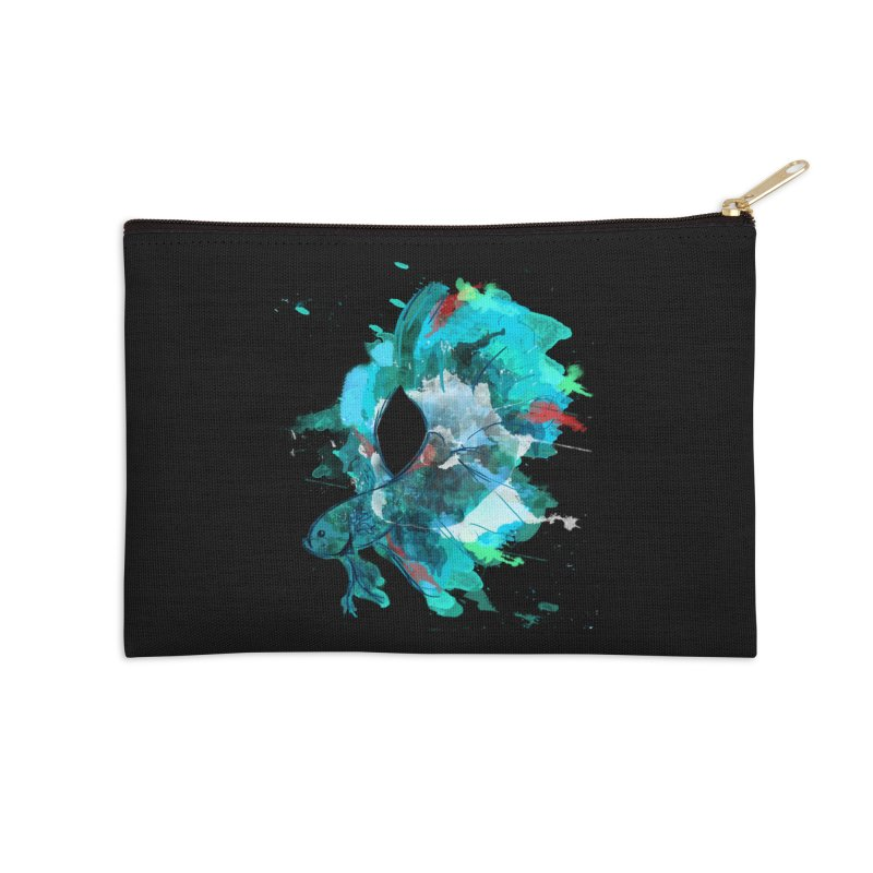 Mr. Betta Accessories Zip Pouch by The Hidden Squid