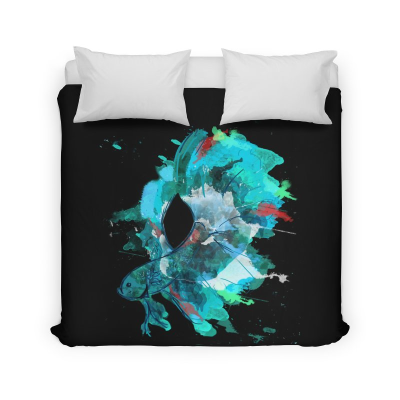 Mr. Betta Home Duvet by The Hidden Squid