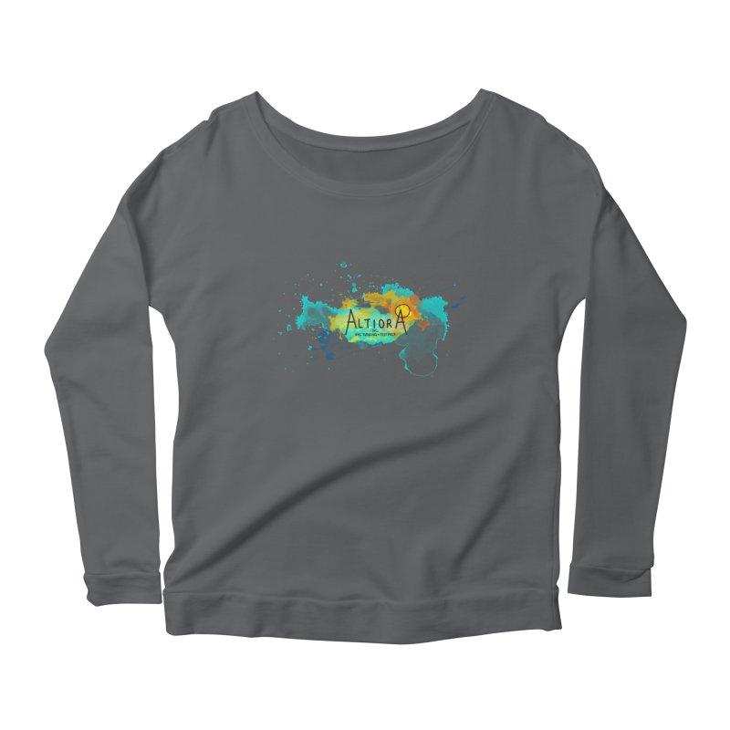 Altiora Inc. Women's Scoop Neck Longsleeve T-Shirt by The Hidden Squid