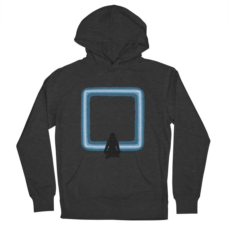 Saline Men's French Terry Pullover Hoody by The Hidden Squid