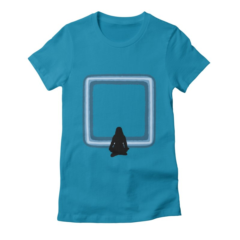Saline Women's Fitted T-Shirt by The Hidden Squid