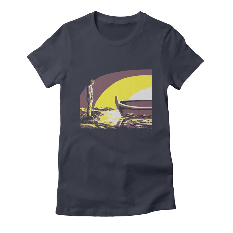 River Styx Women's Fitted T-Shirt by The Hidden Squid