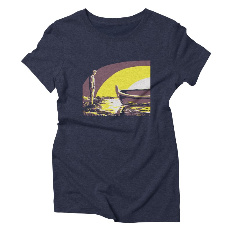 River Styx Women's Triblend T-Shirt by The Hidden Squid