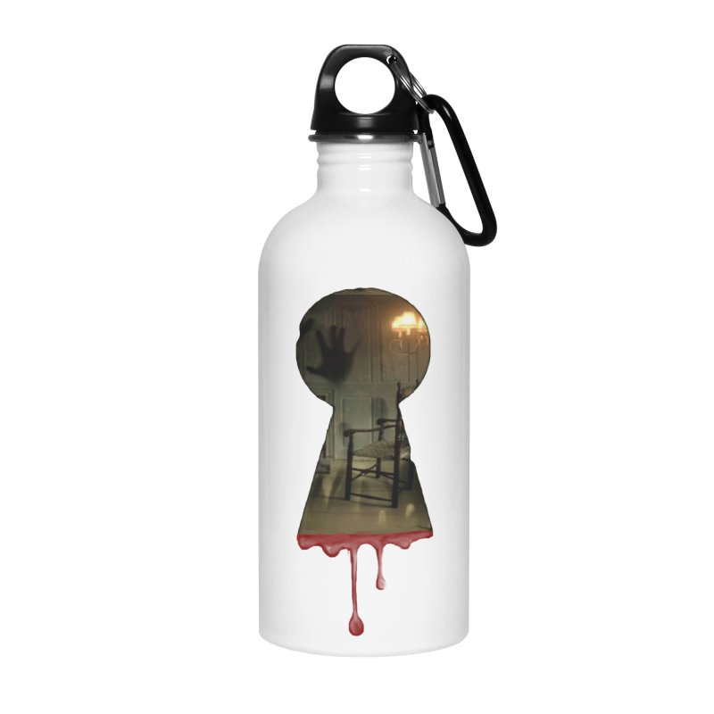 Keyhole Pocket Accessories Water Bottle by The Hidden Staircase's Artist Shop