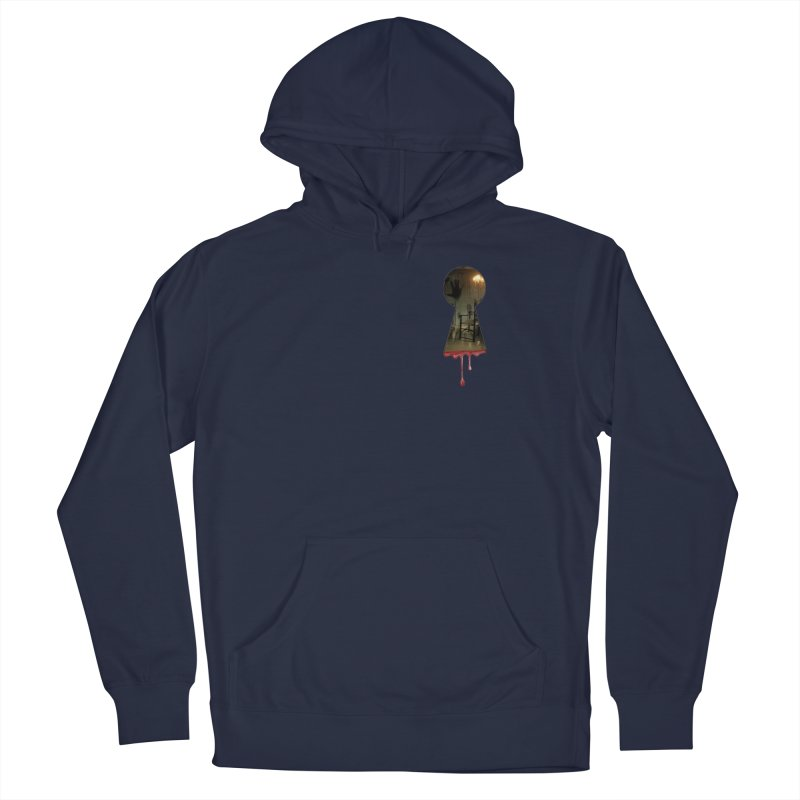 Keyhole Pocket Men's Pullover Hoody by The Hidden Staircase's Artist Shop