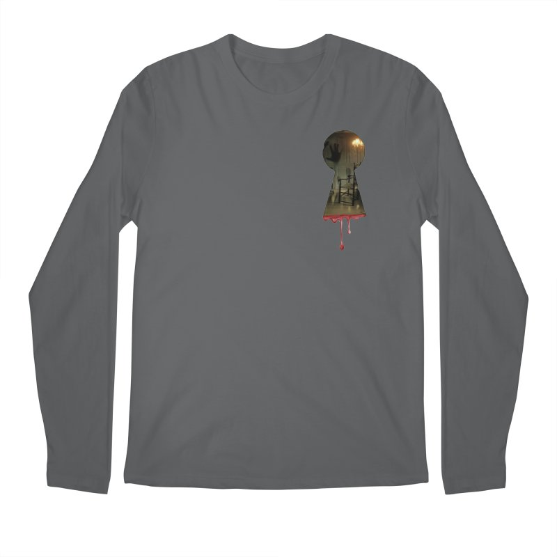 Keyhole Pocket Men's Longsleeve T-Shirt by The Hidden Staircase's Artist Shop