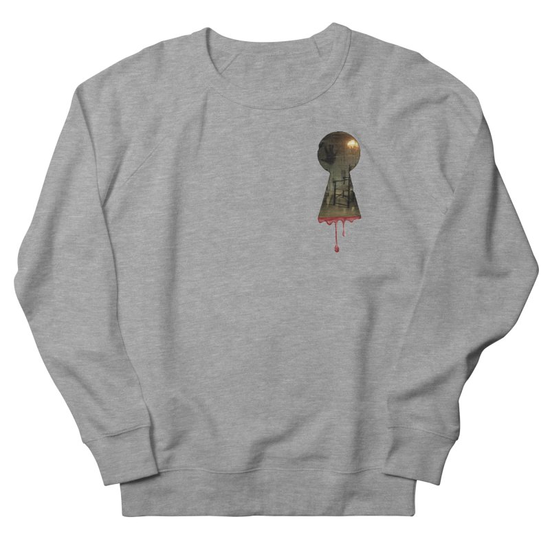 Keyhole Pocket Men's French Terry Sweatshirt by The Hidden Staircase's Artist Shop
