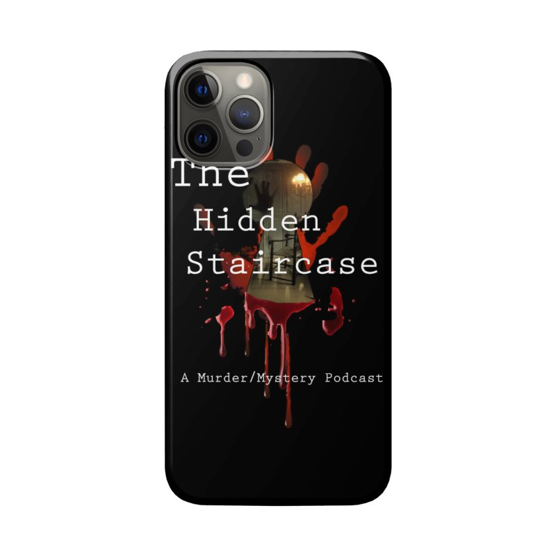 Bloody Logo Accessories Phone Case by The Hidden Staircase's Artist Shop