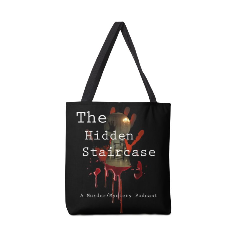 Bloody Logo Accessories Tote Bag Bag by The Hidden Staircase's Artist Shop