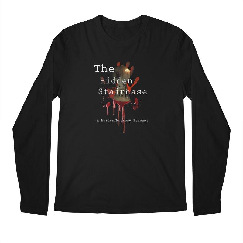 Bloody Logo Men's Longsleeve T-Shirt by The Hidden Staircase's Artist Shop