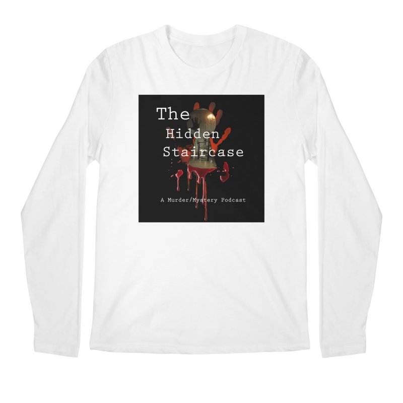 Bloody Logo Men's Regular Longsleeve T-Shirt by The Hidden Staircase's Artist Shop