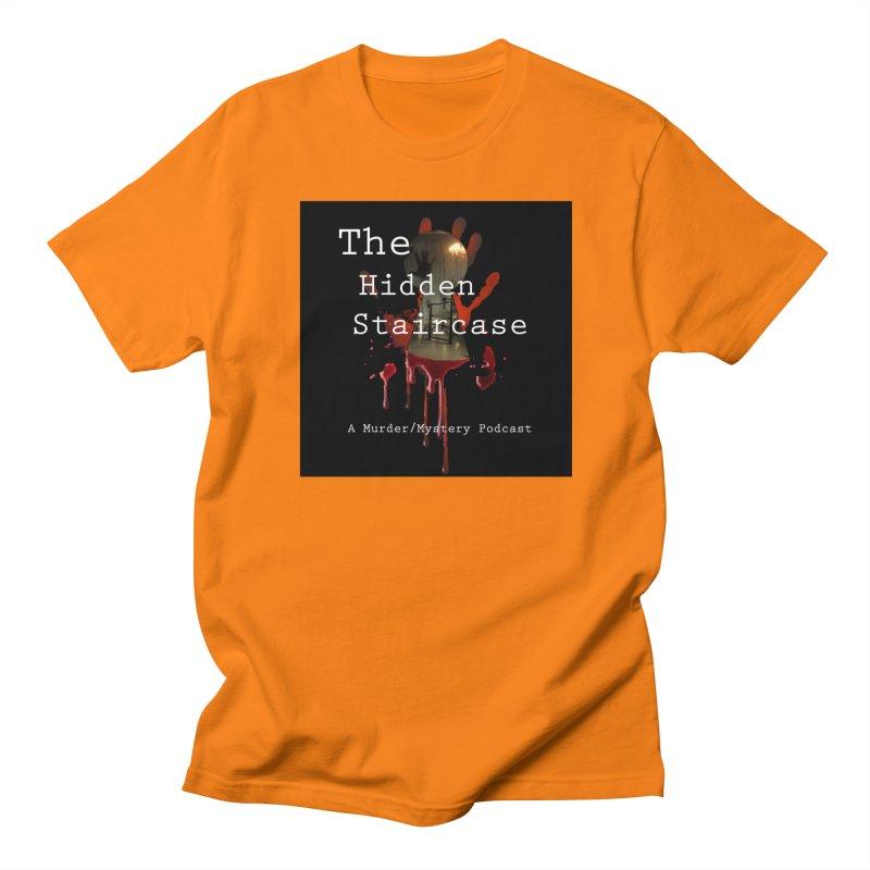 Bloody Logo Men's Regular T-Shirt by The Hidden Staircase's Artist Shop