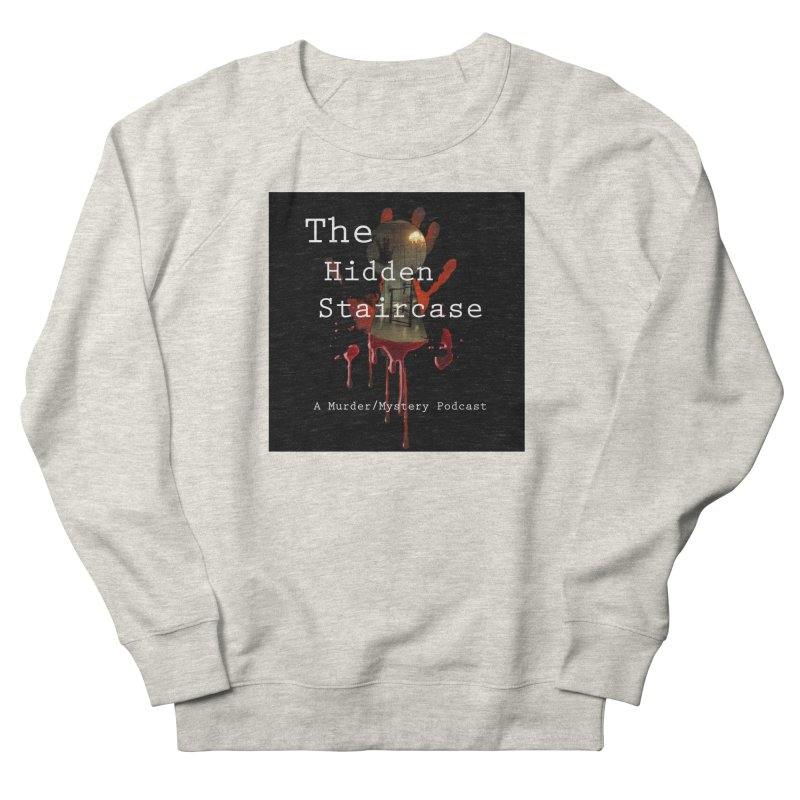Bloody Logo Men's French Terry Sweatshirt by The Hidden Staircase's Artist Shop