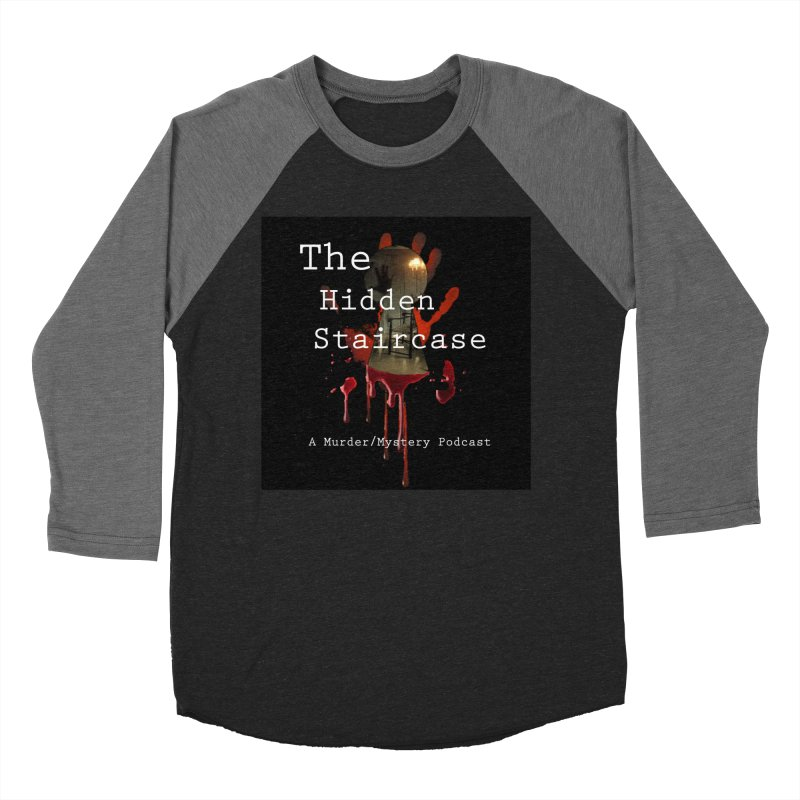 Bloody Logo Men's Baseball Triblend Longsleeve T-Shirt by The Hidden Staircase's Artist Shop