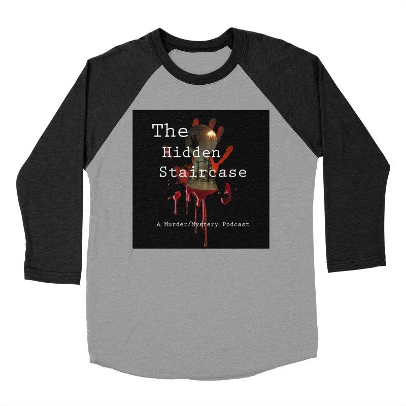 Bloody Logo Men's Baseball Triblend Longsleeve T-Shirt by The Hidden Staircase's Artist Shop
