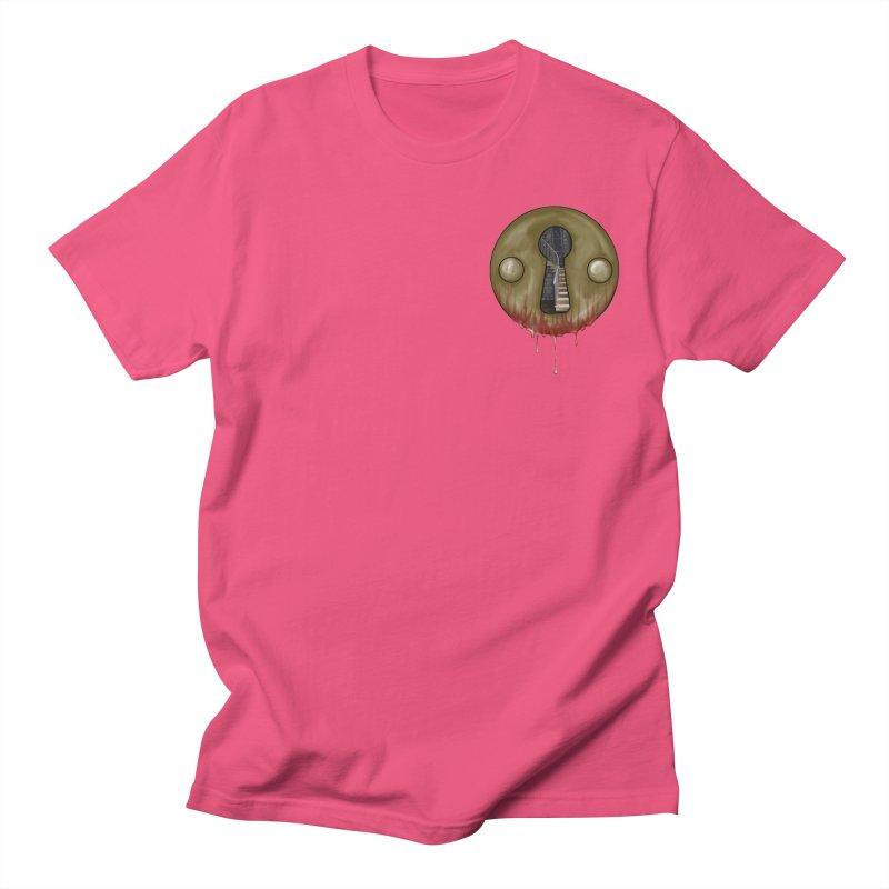 Hidden Lock Pocket Men's T-Shirt by The Hidden Staircase's Artist Shop
