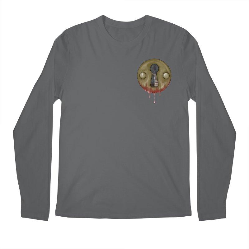 Hidden Lock Pocket Men's Longsleeve T-Shirt by The Hidden Staircase's Artist Shop