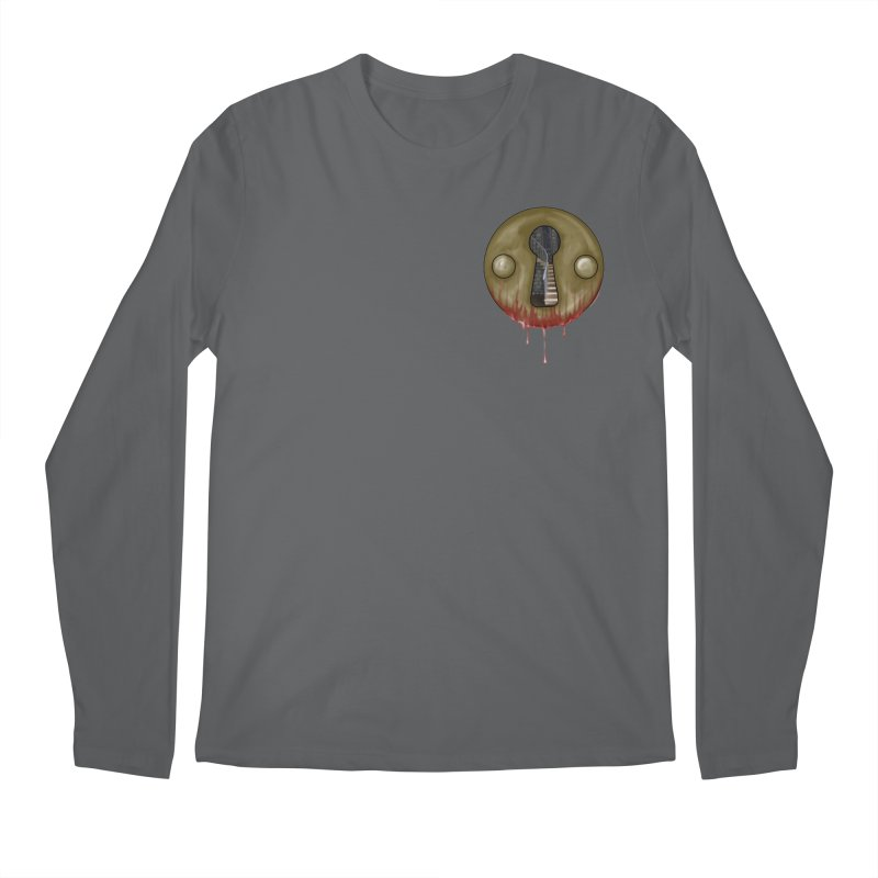 Hidden Lock Pocket Men's Longsleeve T-Shirt by The Hidden Staircase's Artist Shop