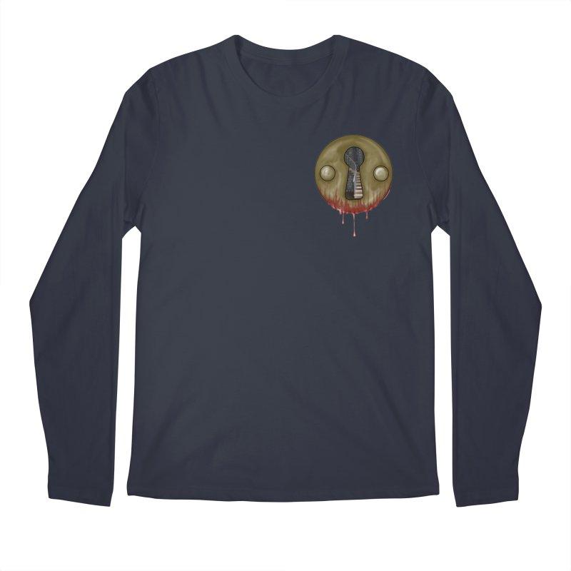 Hidden Lock Pocket Men's Regular Longsleeve T-Shirt by The Hidden Staircase's Artist Shop