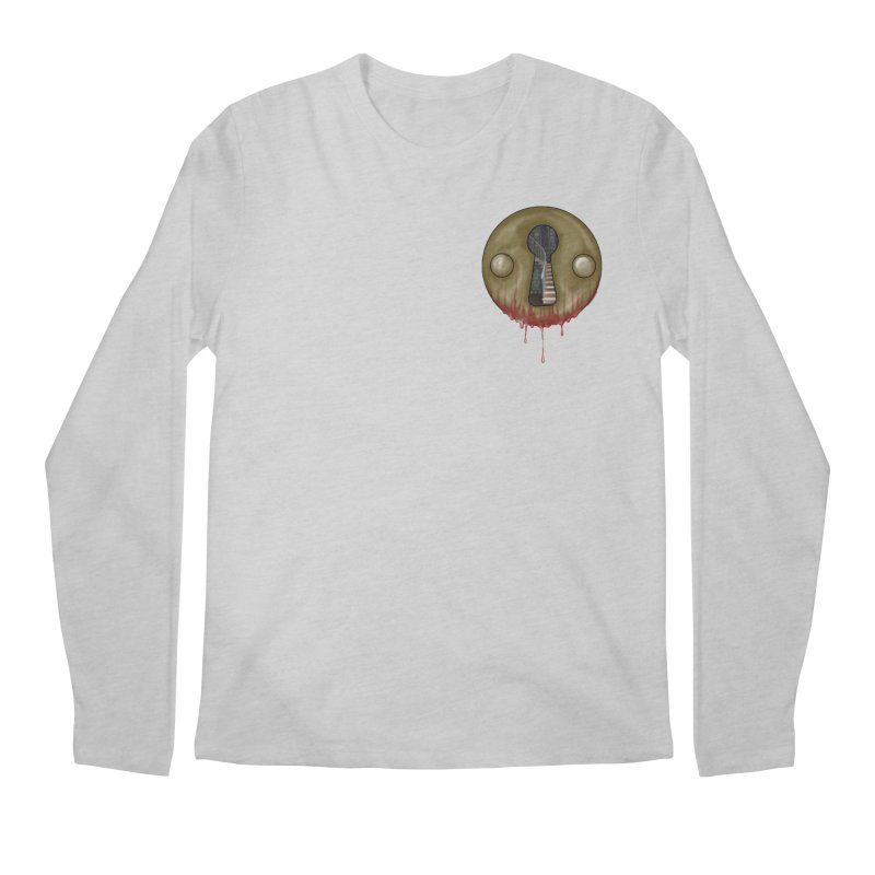 Hidden Lock Pocket Men's Regular Longsleeve T-Shirt by The Hidden Staircase's Artist Shop