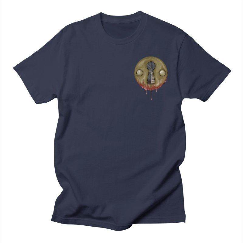 Hidden Lock Pocket Men's Regular T-Shirt by The Hidden Staircase's Artist Shop