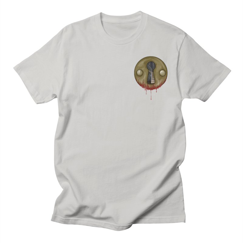 Hidden Lock Pocket Men's Regular T-Shirt by The Hidden Staircase's Artist Shop