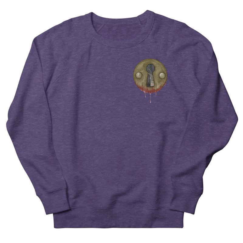 Hidden Lock Pocket Men's French Terry Sweatshirt by The Hidden Staircase's Artist Shop