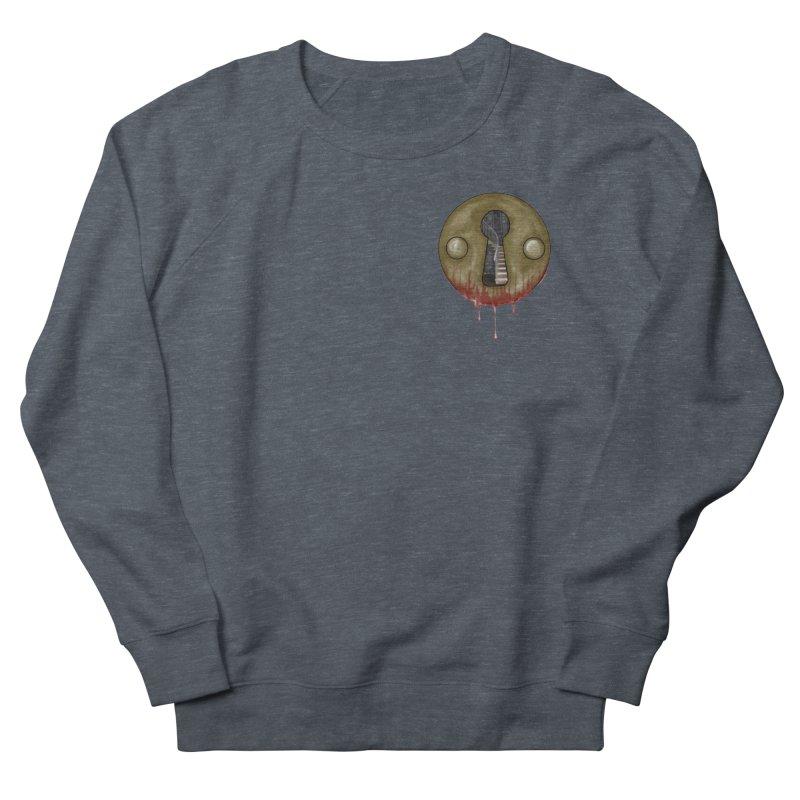 Hidden Lock Pocket Men's French Terry Sweatshirt by The Hidden Staircase's Artist Shop