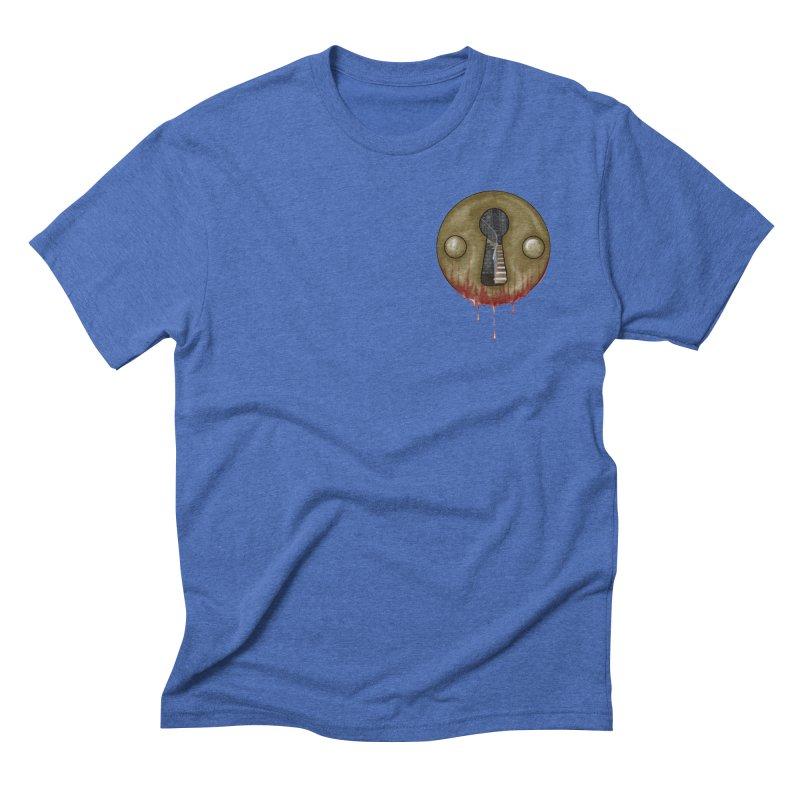 Hidden Lock Pocket Men's Triblend T-Shirt by The Hidden Staircase's Artist Shop