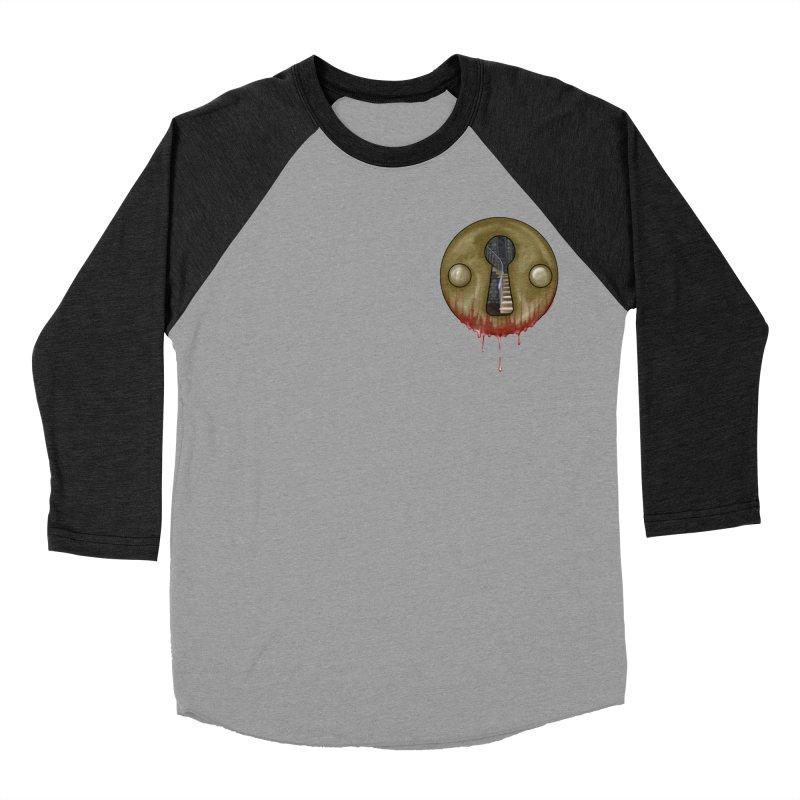 Hidden Lock Pocket Men's Baseball Triblend Longsleeve T-Shirt by The Hidden Staircase's Artist Shop