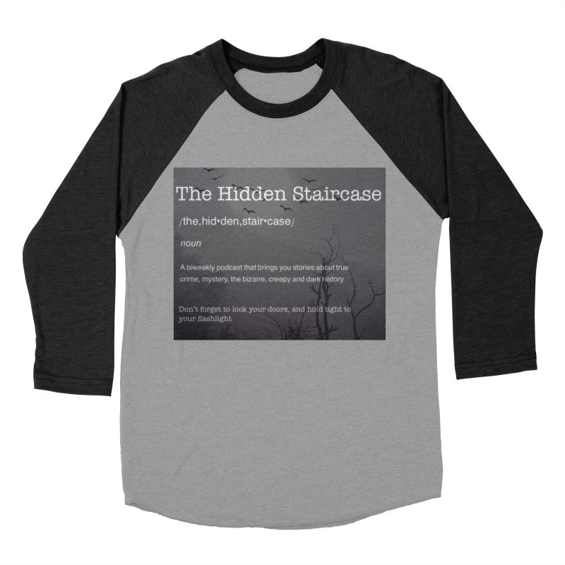 Hidden Staircase Definition Men's Longsleeve T-Shirt by The Hidden Staircase's Artist Shop