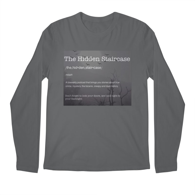 Hidden Staircase Definition Men's Regular Longsleeve T-Shirt by The Hidden Staircase's Artist Shop