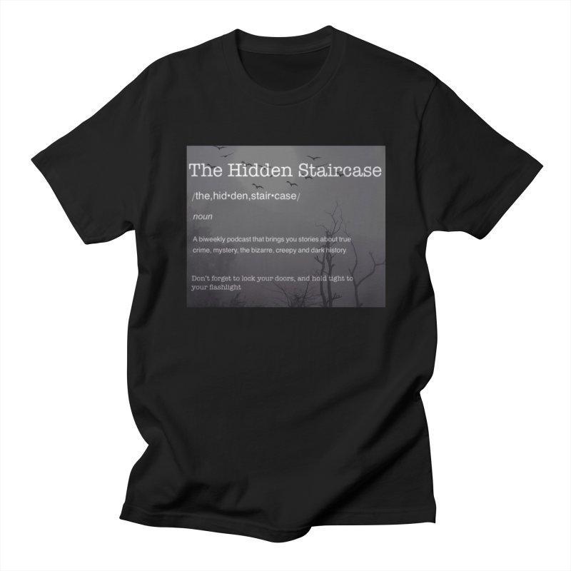 Hidden Staircase Definition Men's Regular T-Shirt by The Hidden Staircase's Artist Shop
