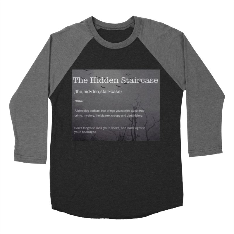 Hidden Staircase Definition Men's Baseball Triblend Longsleeve T-Shirt by The Hidden Staircase's Artist Shop