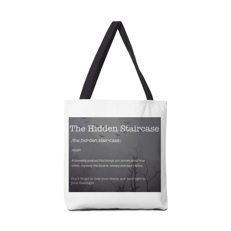 Hidden Staircase Definition Accessories Bag by The Hidden Staircase's Artist Shop