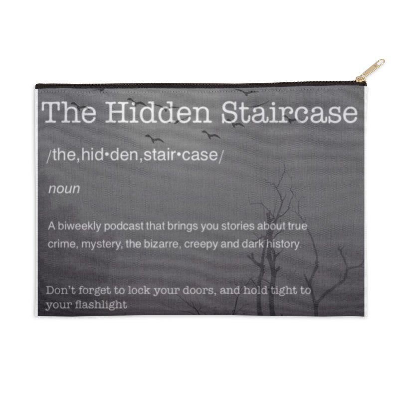 Hidden Staircase Definition Accessories Zip Pouch by The Hidden Staircase's Artist Shop