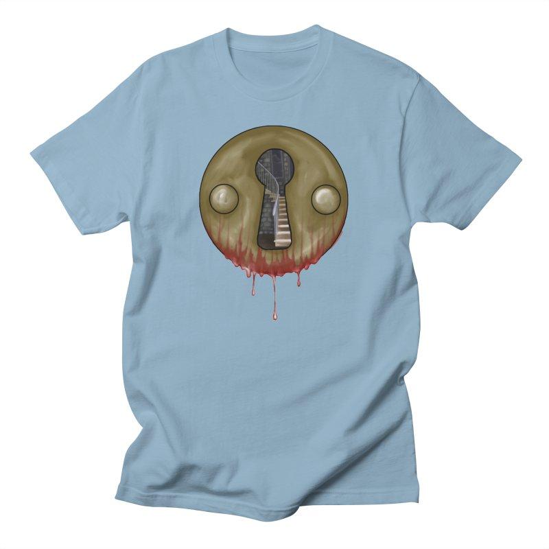 Hidden Lock Men's T-Shirt by The Hidden Staircase's Artist Shop