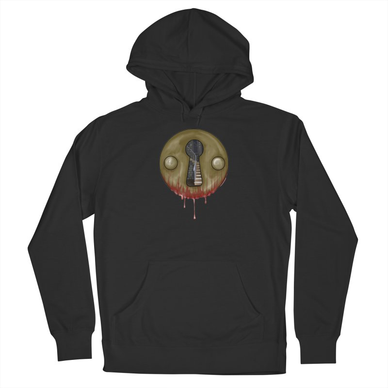 Hidden Lock Men's French Terry Pullover Hoody by The Hidden Staircase's Artist Shop