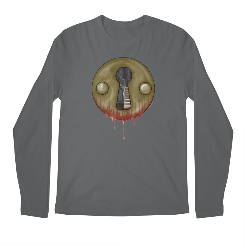 Hidden Lock Men's Longsleeve T-Shirt by The Hidden Staircase's Artist Shop