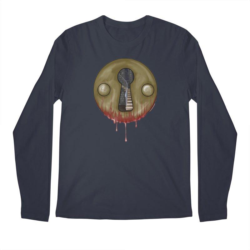 Hidden Lock Men's Regular Longsleeve T-Shirt by The Hidden Staircase's Artist Shop