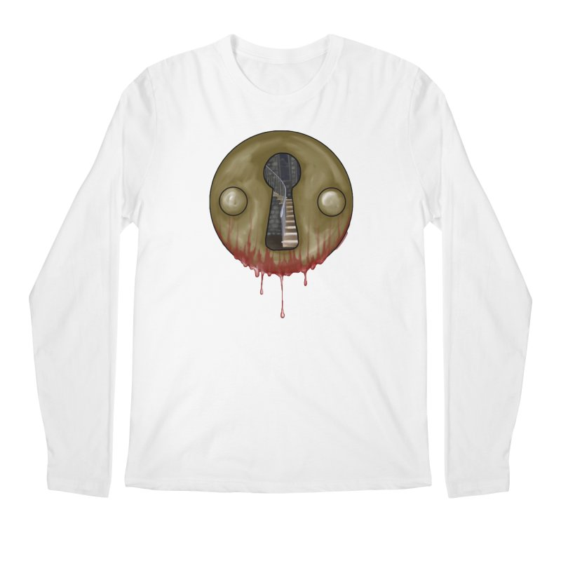 Hidden Lock Men's Regular Longsleeve T-Shirt by The Hidden Staircase's Artist Shop