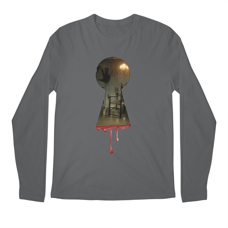 Keyhole Men's Longsleeve T-Shirt by The Hidden Staircase's Artist Shop