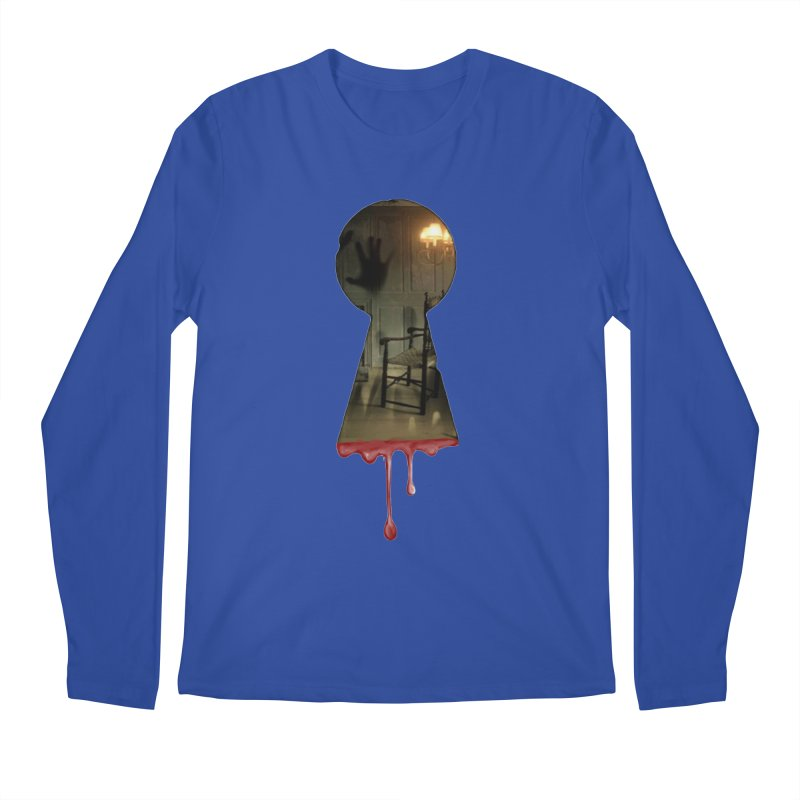 Keyhole Men's Regular Longsleeve T-Shirt by The Hidden Staircase's Artist Shop