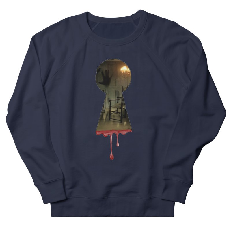 Keyhole Men's French Terry Sweatshirt by The Hidden Staircase's Artist Shop