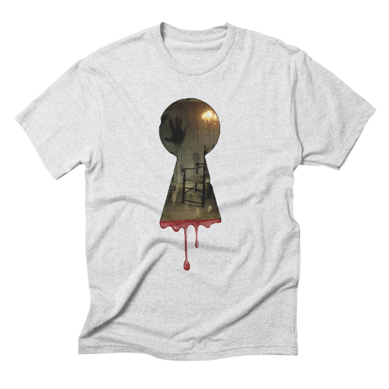 Keyhole Men's Triblend T-Shirt by The Hidden Staircase's Artist Shop