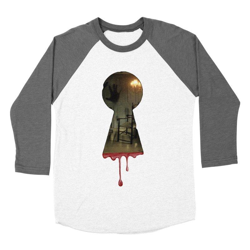 Keyhole Men's Baseball Triblend Longsleeve T-Shirt by The Hidden Staircase's Artist Shop