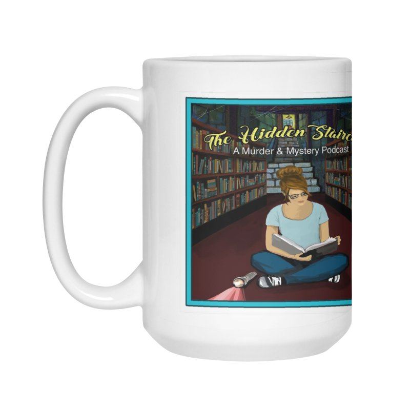 Reading Logo Accessories Mug by The Hidden Staircase's Artist Shop